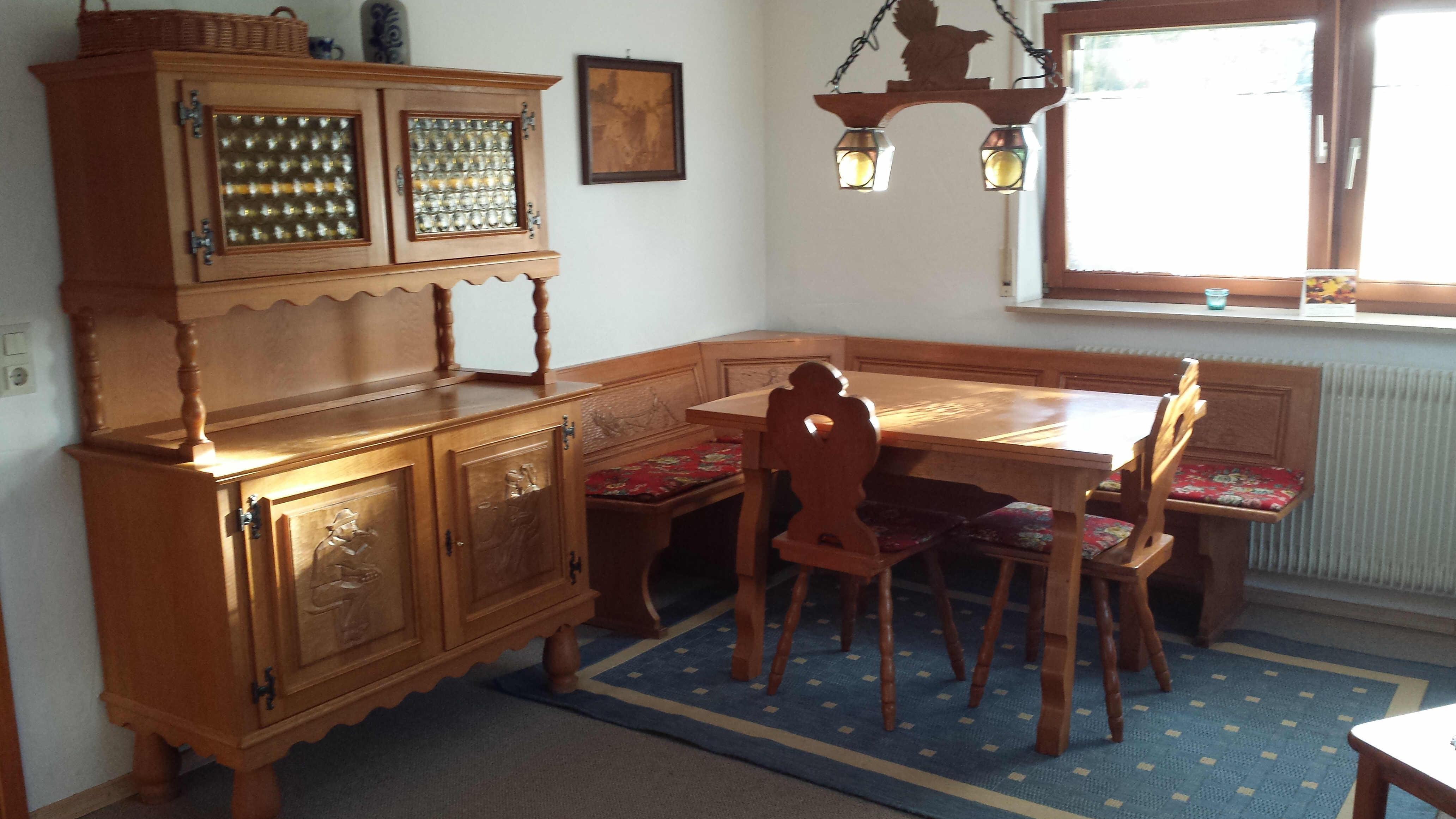 kleine fewo essecke. Black Bedroom Furniture Sets. Home Design Ideas